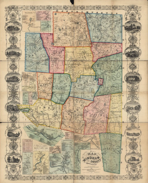 1856 CT Map